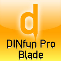 DINfun Pro Blade by Roger S. Nelsson