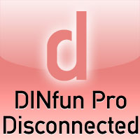 DINfun Pro Disconnected
