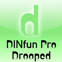 DINfun Pro Drooped