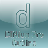 DINfun Pro Outline
